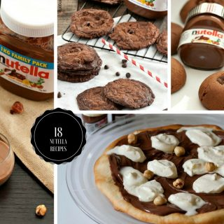Nutella Recipe Round-up 2017