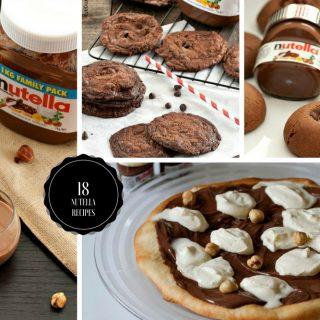 Nutella Recipe Round-up 2017