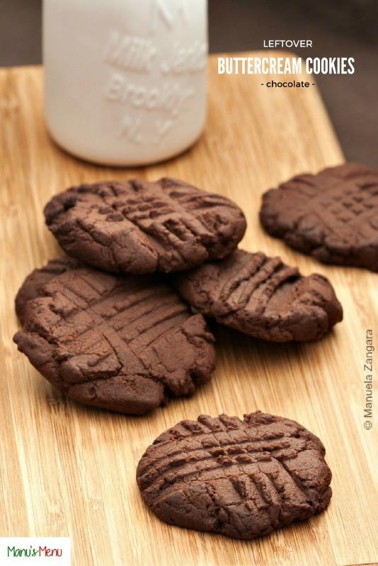 Leftover Buttercream Cookies