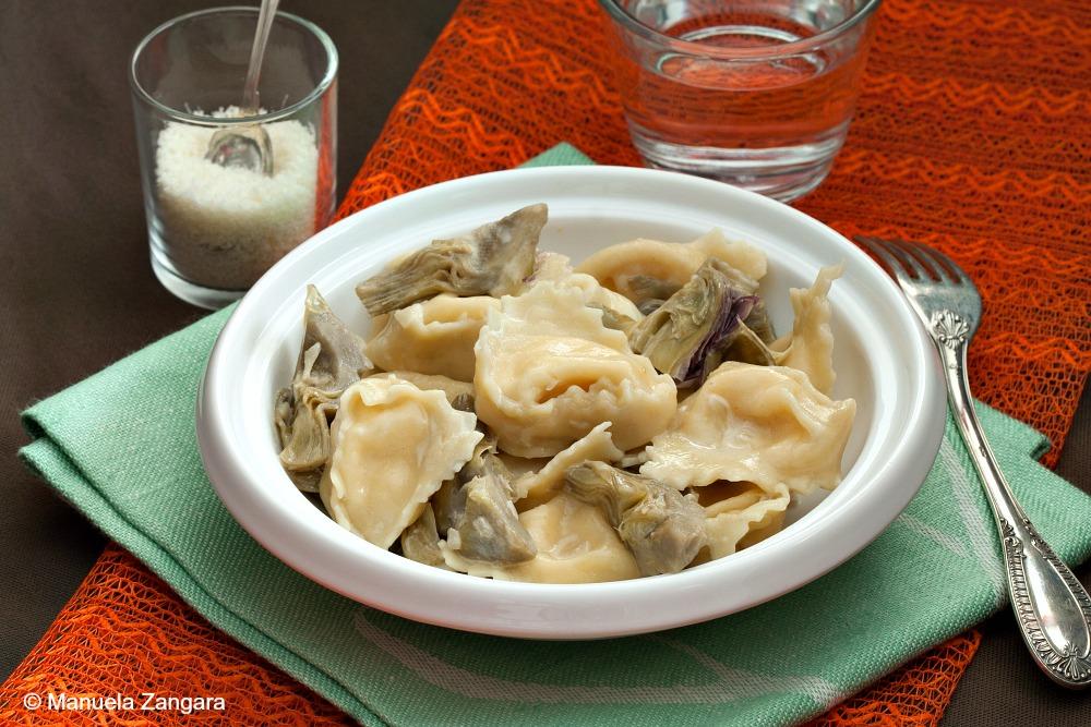 Parmigiano Reggiano Tortellini with Artichokes