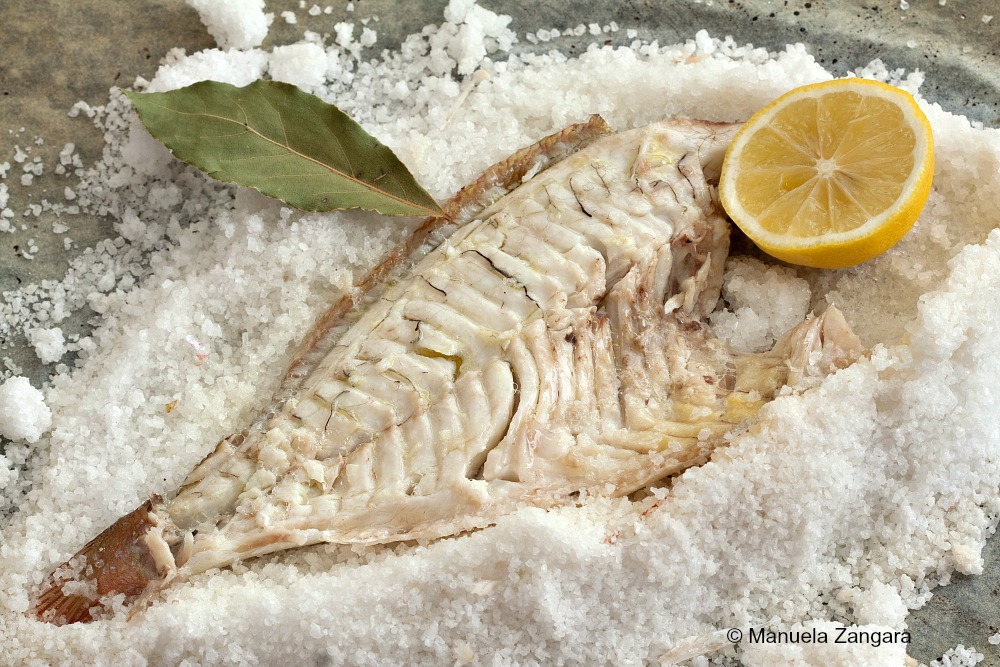 Salt-Crusted Snapper