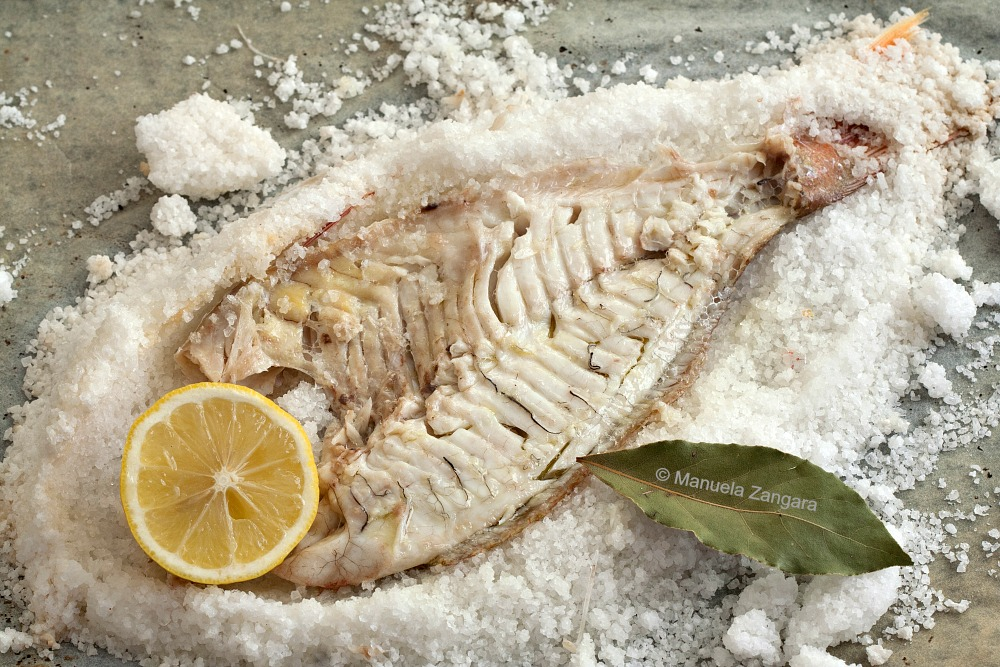 Salt-Crusted Snapper