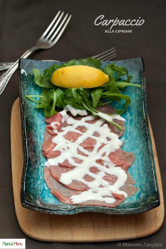 Beef Carpaccio alla Cipriani