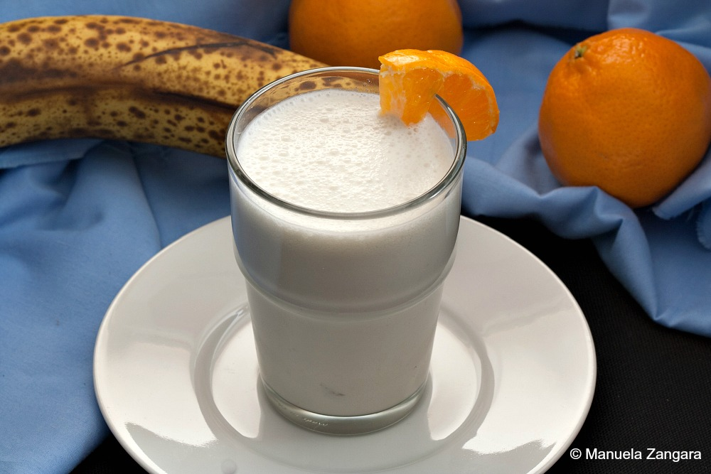 Coconut Banana Mandarin Smoothie