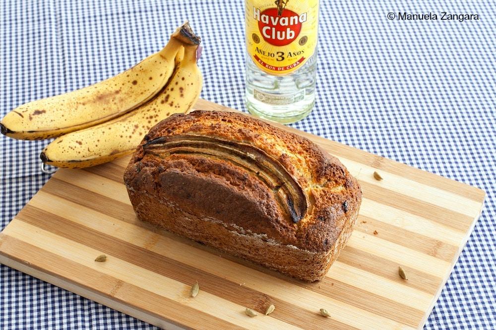 Cardamom Rum Banana Bread