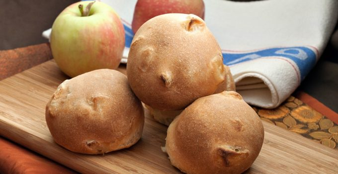 Savoury Apple Rolls