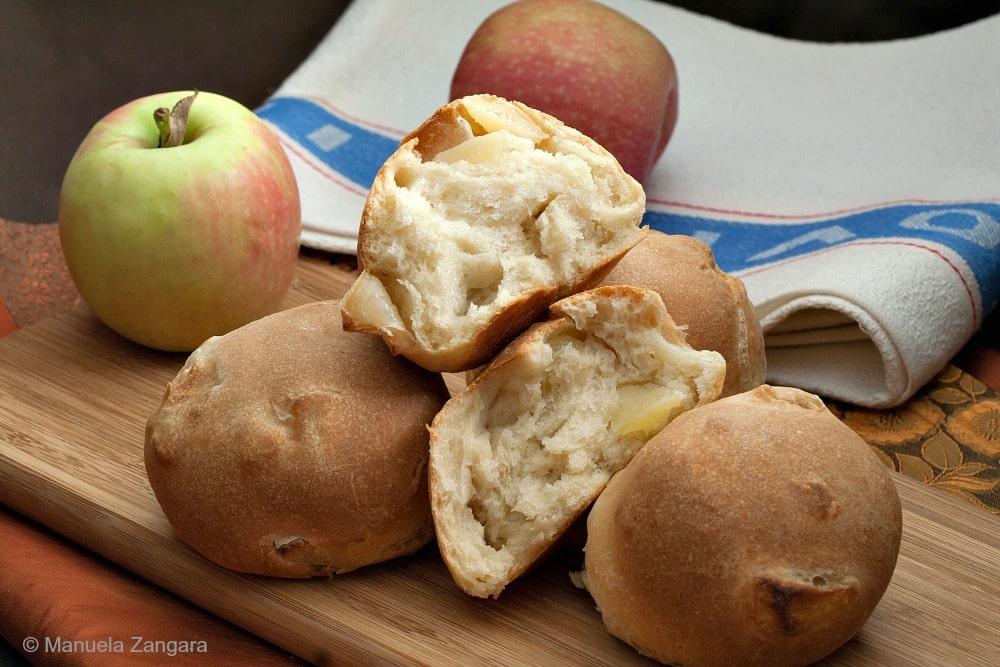 Savoury Apple Rolls
