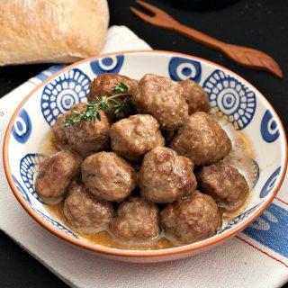 Meatball Marsala