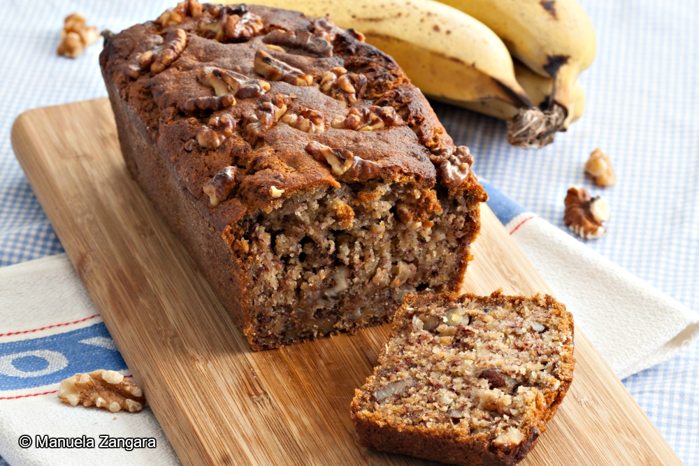 Vegan Wholemeal Banana Bread