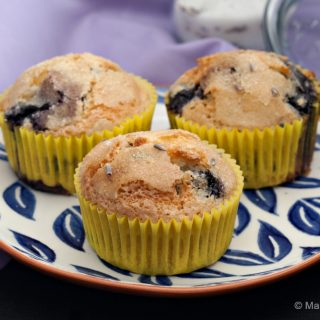 Dairy-free Blueberry Lavender Muffins 1 (1 of 1)