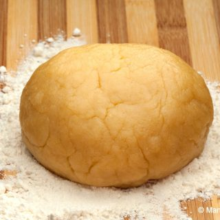 Oil Shortbread Dough