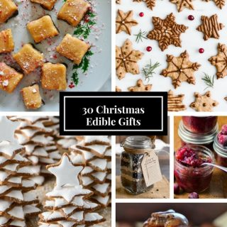 Edible Christmas Gifts 2017 Round Up