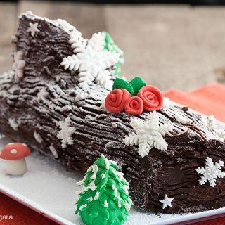 Decoration De Menu De Noel.Buche De Noel Manu S Menu