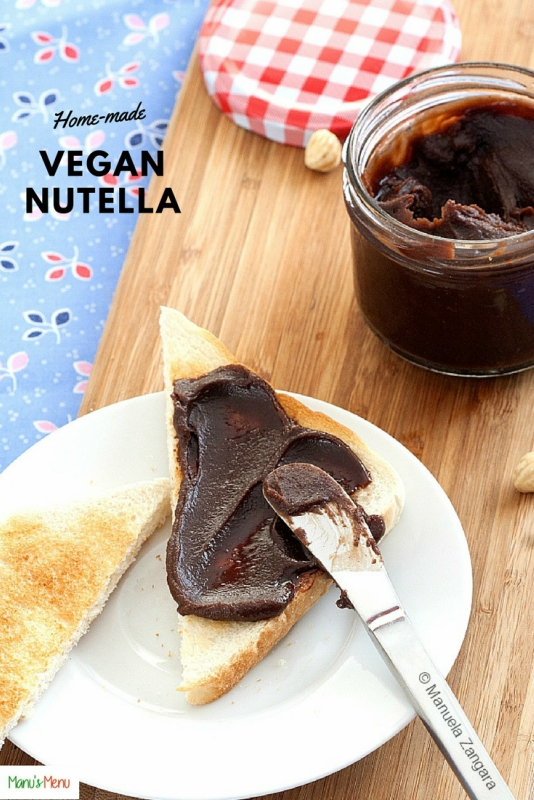 Home-made Vegan Nutella