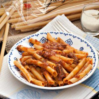 Ziti with Neapolitan Meat Ragout #Napolicious