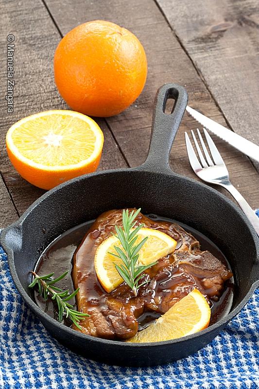 Skillet Marmalade Pork Chops