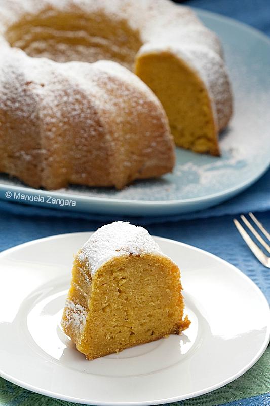 Vegan Mango Bundt Cake