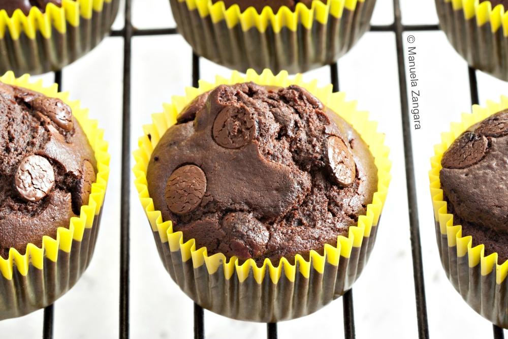 Dairy-free Chocolate Muffins
