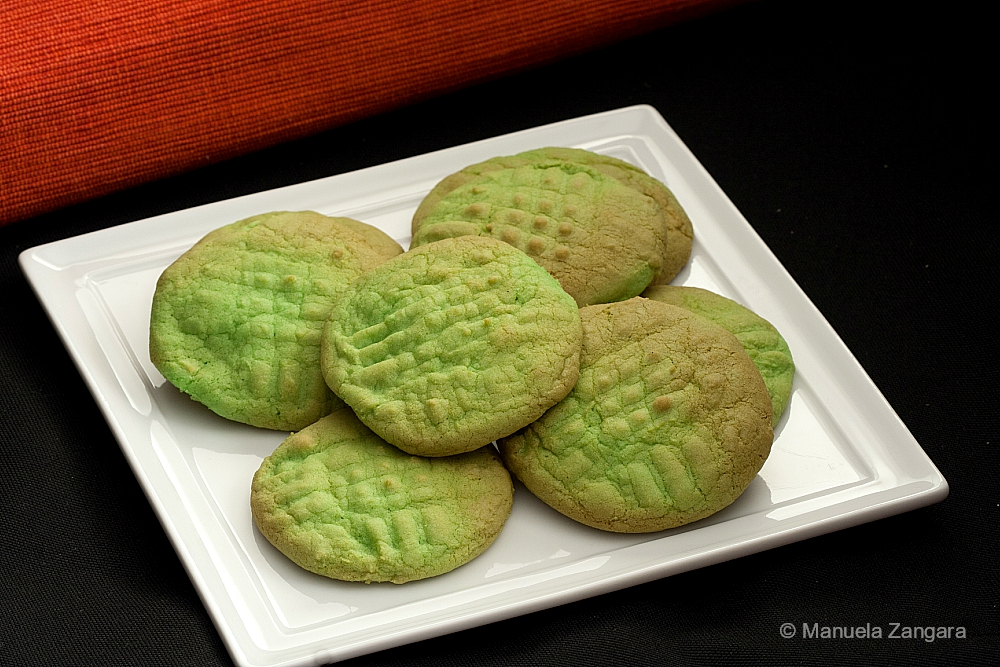 Green Buttercream Cookies