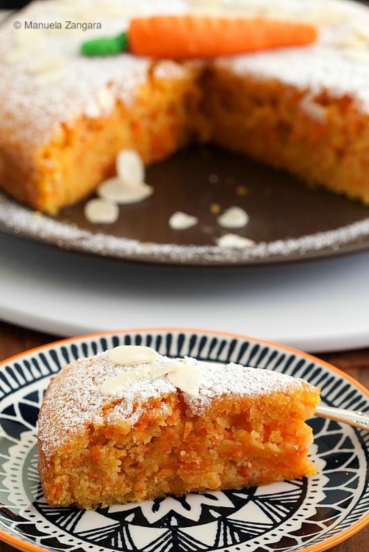 Italian Almond Carrot Cake