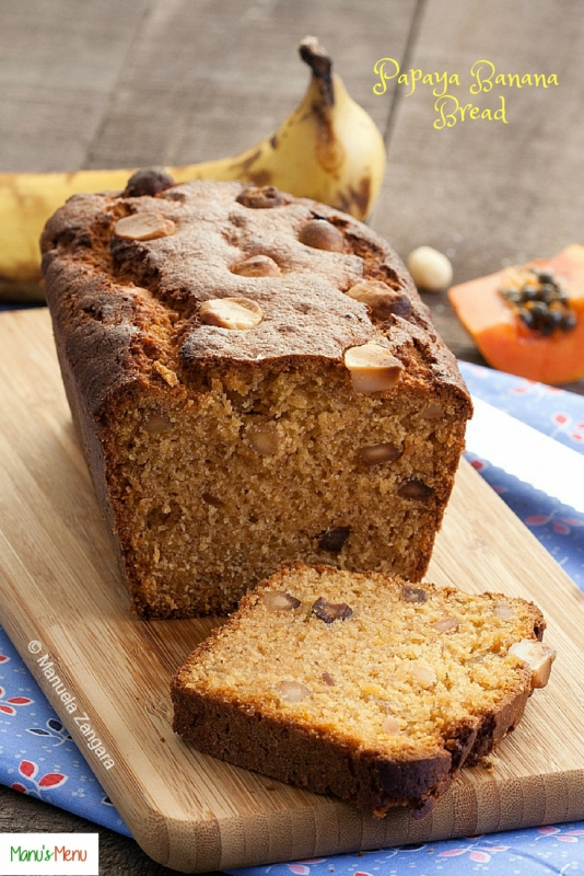 Papaya Banana Bread
