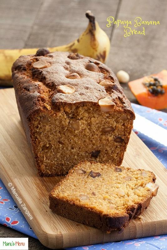 Papaya Banana Bread
