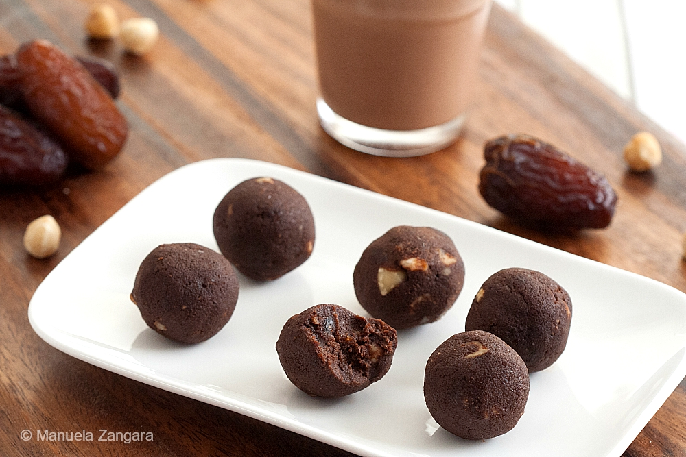 Vegan Chocolate Hazelnut Truffles