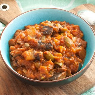 Lightened-up Eggplant Caponata