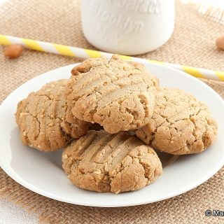 Low Fodmap Buckwheat Peanut Butter Cookies