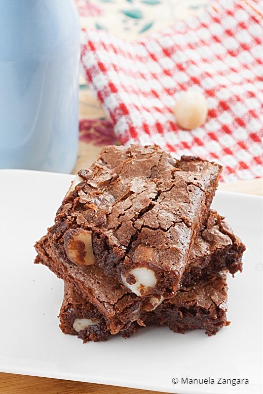 Low Fodmap Macadamia Brownies