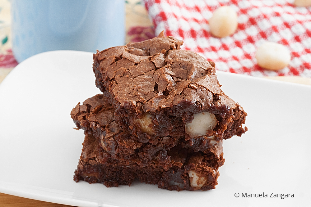 Low Fodmap Macadamia Brownies
