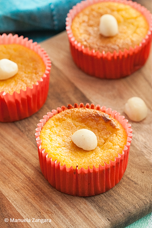 Low Fodmap Orange Cakes
