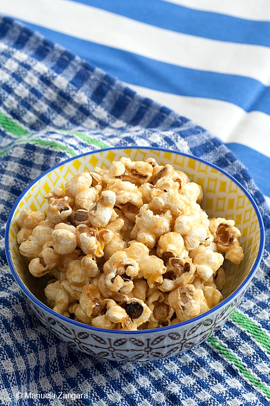 Maple Peanut Butter Popcorn