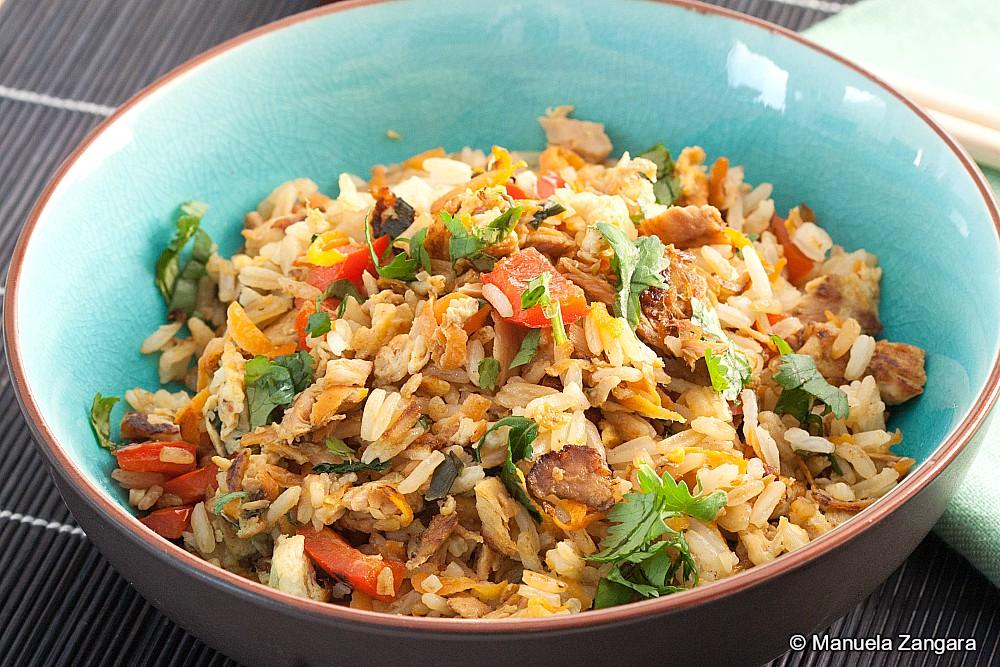 Low Fodmap Tuna Fried Rice