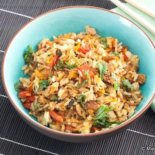 Low Fodmap Tuna Fried Rice