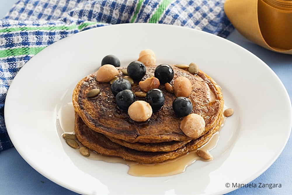Low Fodmap Pumpkin Pancakes