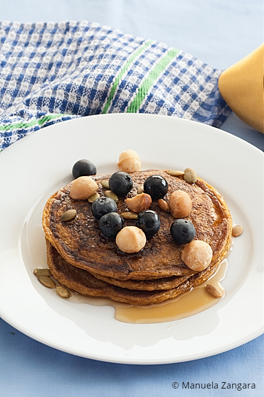 Low Fodmap Pumpkin Pancakes