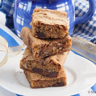 Low Fodmap Blondies