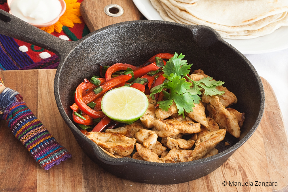 Low Fodmap Chicken Fajitas