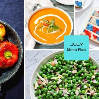 July Menu Plan