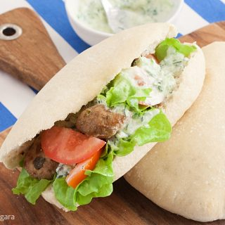 Low Fodmap Pork Gyros
