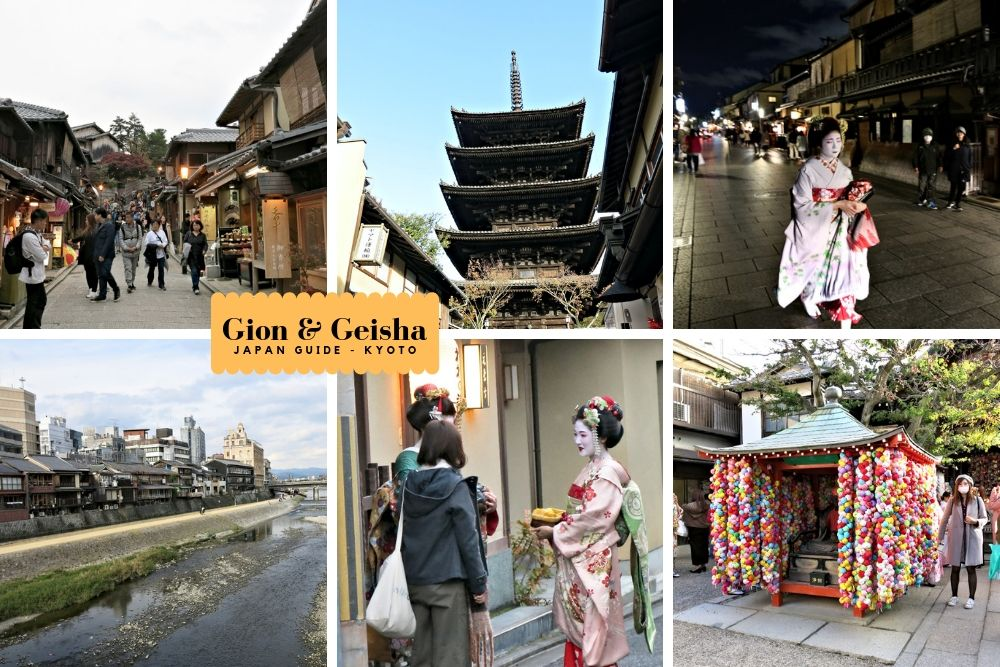 Gion and Geisha in Kyoto