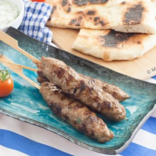 Low Fodmap Lamb Kofte Kebabs