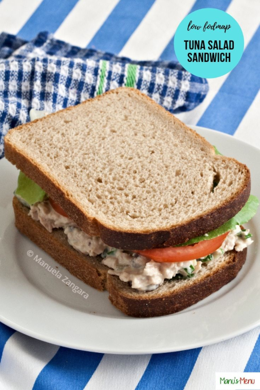 Low Fodmap Tuna Salad Sandwich