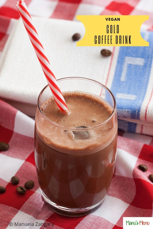 Vegan Cold Coffee Drink