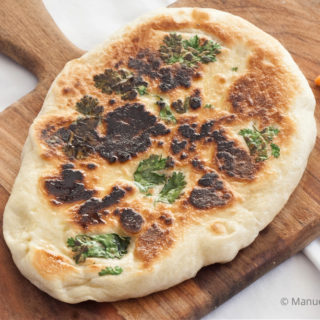 Low Fodmap Garlic Naan
