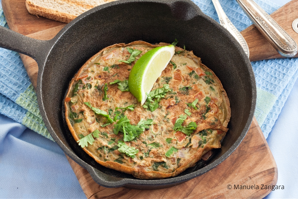 Low Fodmap Masala Omelette