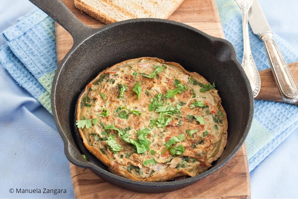 Low Fodmap Masala Omelette