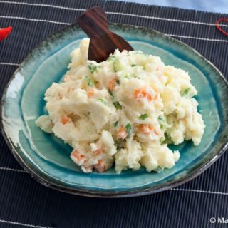 Low Fodmap Eggless Japanese Potato Salad