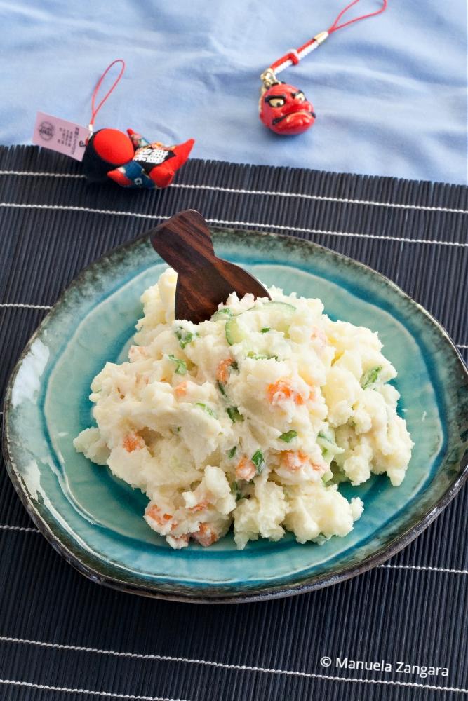 Low Fodmap Eggless Japanese Potato Salad